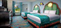 Disney World Themed Hotel Rooms | Royal, Cars, Little ...