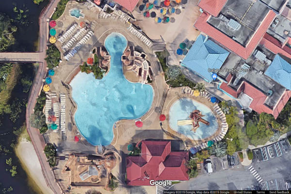 disney-caribbean-beach-resort-fuentes-del-morro-pool-map-view-600 Disney Caribbean Beach Resort Map on