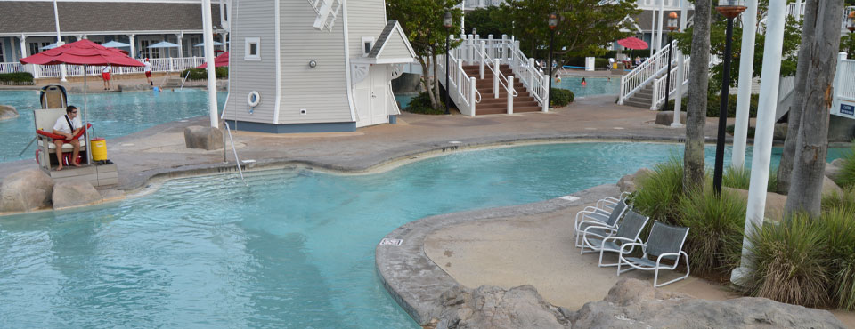 Beach Club Disney Heated Pool
