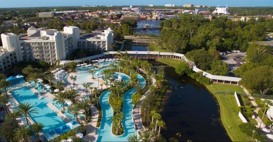Hilton Lake Buena Vista Palace Pools Orlando Fl