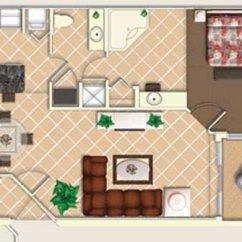 Smallest Sleeper Sofa El Corte Ingles Madrid Sofas Mystic Dunes Resort Villas - 2 Bedroom And 3 Villa