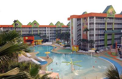 Nickelodeon Suites Resort Pool 2 Large Heated Swimming Pools