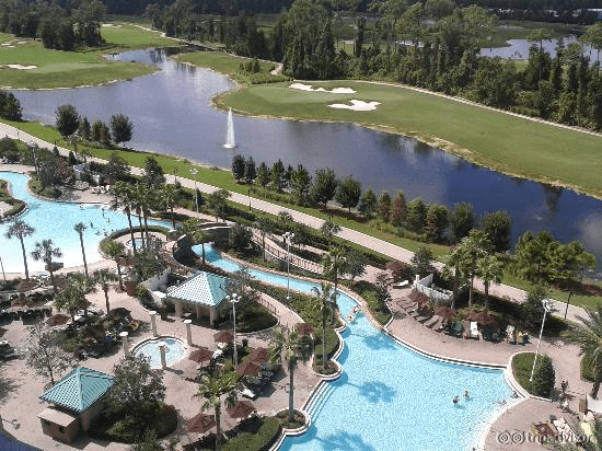 Hilton Orlando Bonnet Creek Pool Zero Entry Pools Lazy River