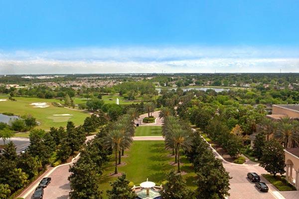 Ritz Carlton Orlando Grande Lakes Map