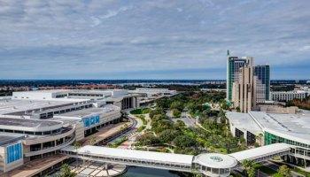 Hyatt Regency Orlando Convention Center Map - on International Drive