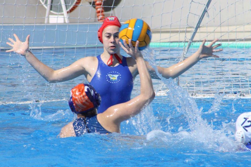 La portera marbellí durante un compromiso con su equipo / V.K.