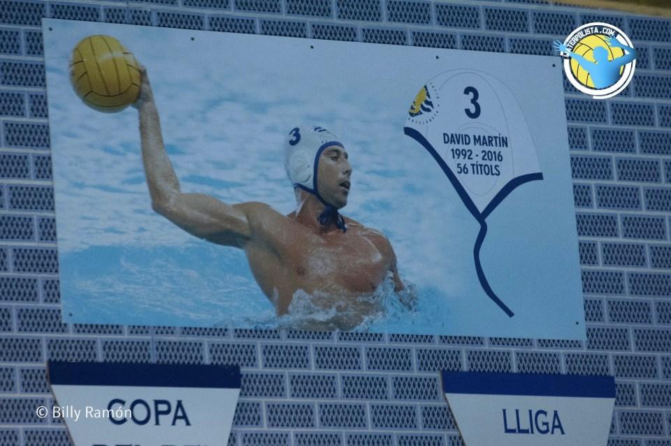 De esta manera David Martín estará siempre presente en la piscina San Sebastià / BILLY RAMÓN