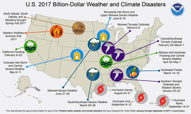 Climate change and severe weather graphic 3