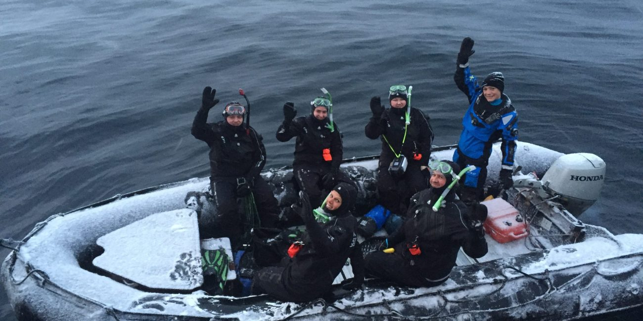 Birgitta Norway zodiac snorkel