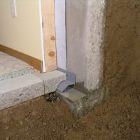 Interior Basement Waterproofing Footer System