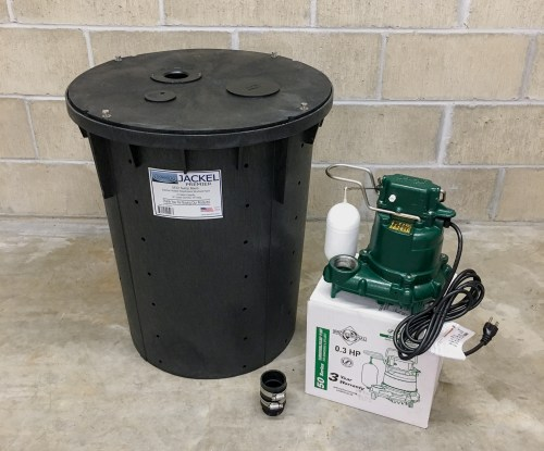 small resolution of diy sump pump how to install a sump pump