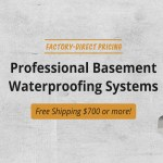 Basement Waterproofing Diy Products Contractor Foundation Systems Waterproof Com