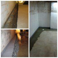 Basement Waterproofing Gallery - Waterproofing One