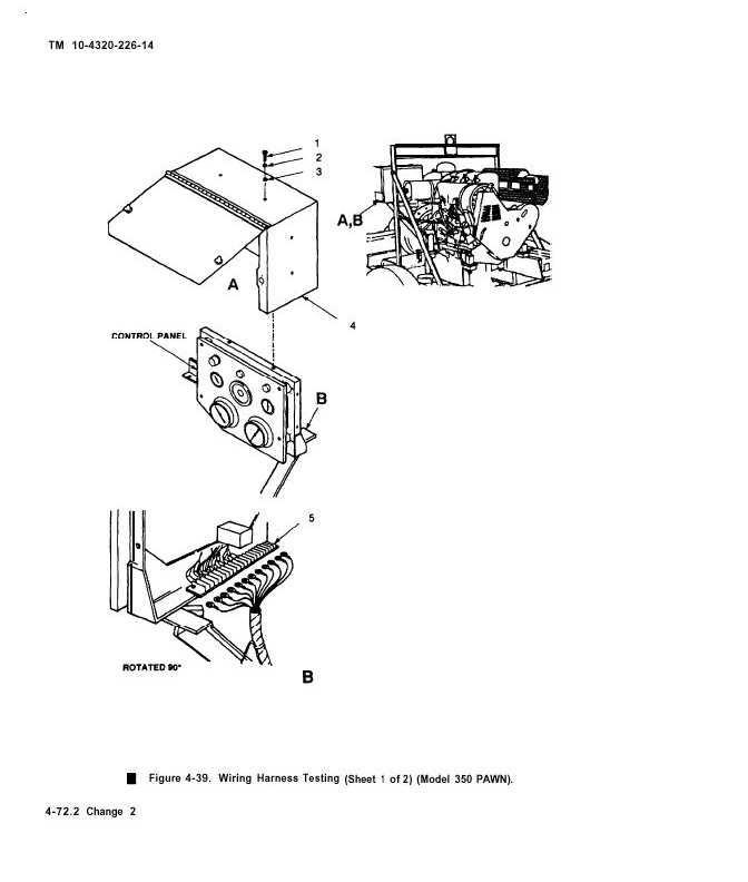 Figure 4-39. Wiring Harness Testing (sheet 1 of 2)