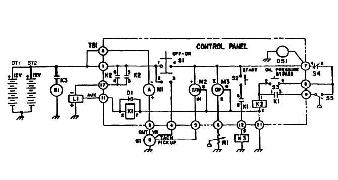 Figure 1-3. Electrical Schematic Diagram (Models 350 PAW