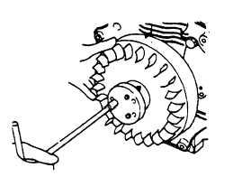 Figure 5-41 Flywheel Tightening Handle
