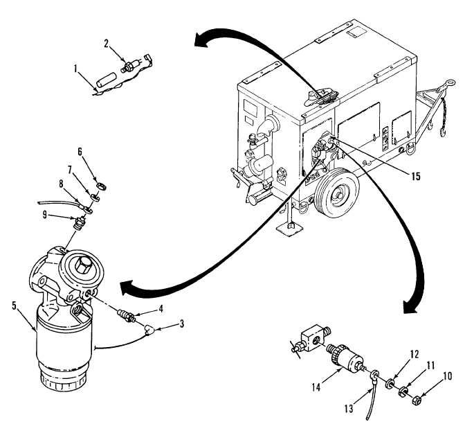 Figure 2-24. Engine Temperature and Oil Pressure Switches