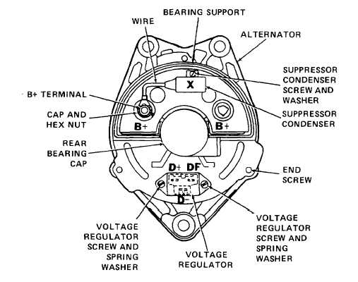 thermo king alternator wiring diagram front end (cont) - tm-5-4320-302-14_363