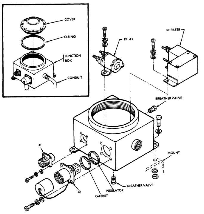 Figure 4-24. Junction Box Assembly (Sheet 1 of 2)