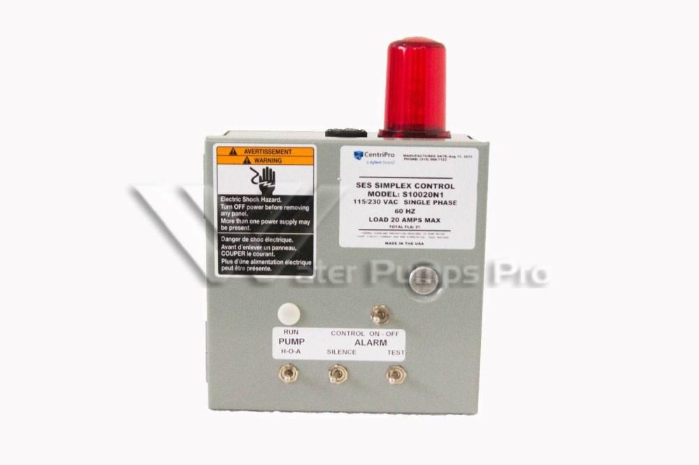 medium resolution of goulds s10020n1 ses simplex control panel 1ph nema 1