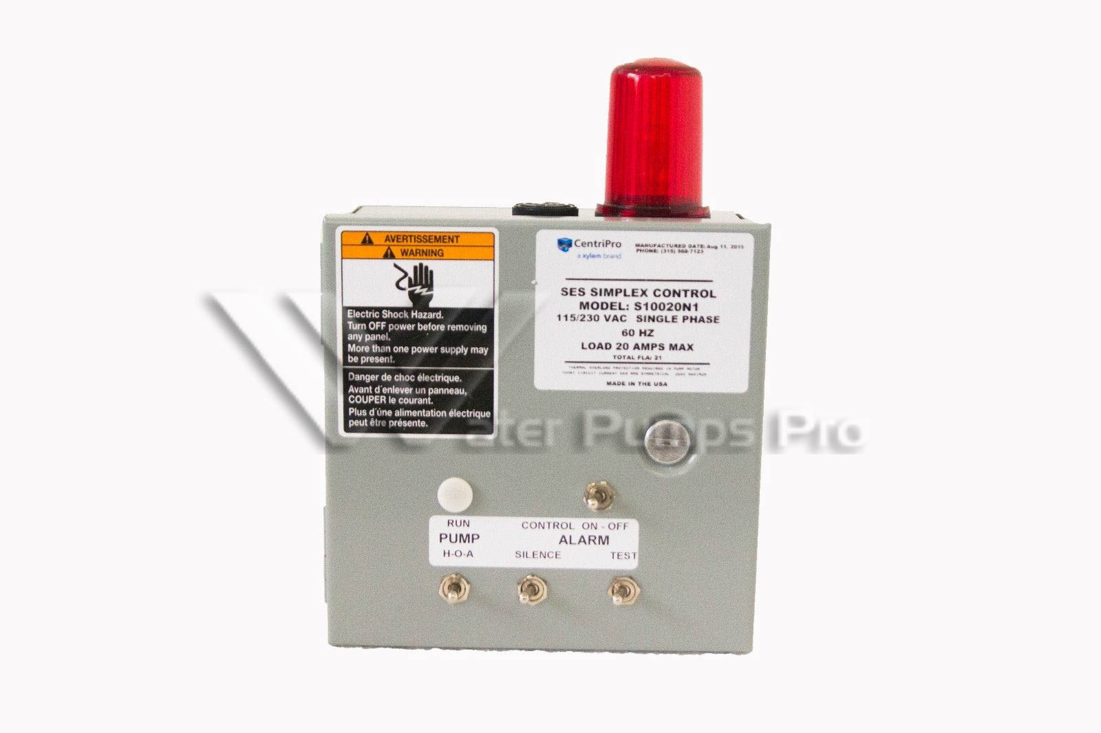hight resolution of goulds s10020n1 ses simplex control panel 1ph nema 1