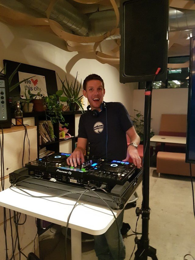 DJ OllieK spins water-themed tunes