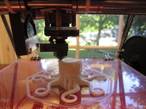 Printing up close