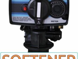Fleck 5600 Metered Water Softener On Demand Control Head Valve