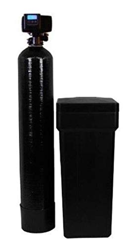 AFWFilters 80k On Demand Water Softener with Resin Made in USA/Canada, 80,000 Grains