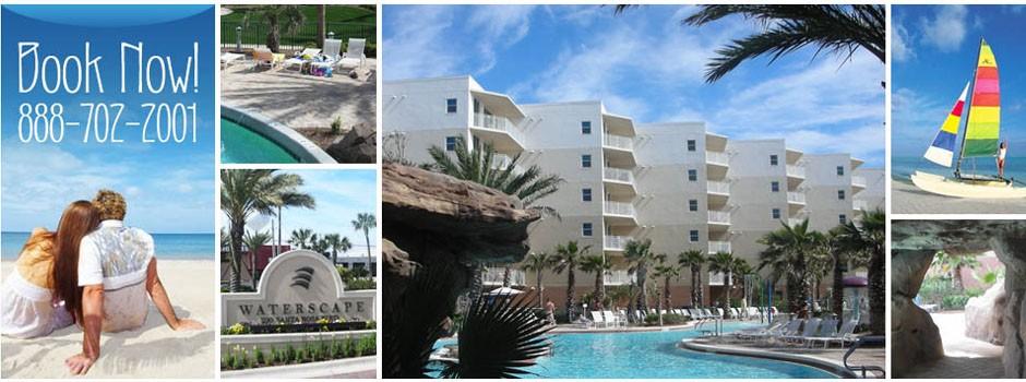 Waterscape Resort In Fort Walton Beach Florida White