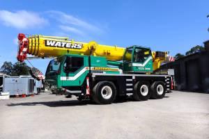55 tonne mobile crane
