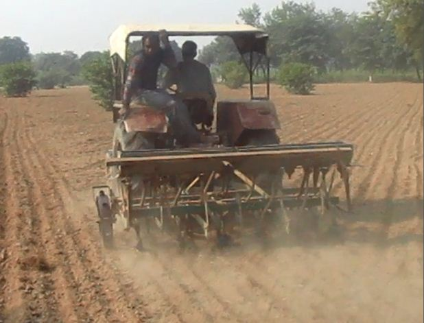 Tillage of the land makes the soil prone to erosion