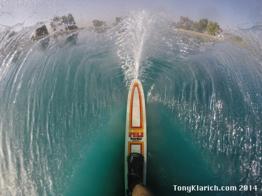 A Water Skiers Life  Free Stock Photos  GoPro Water