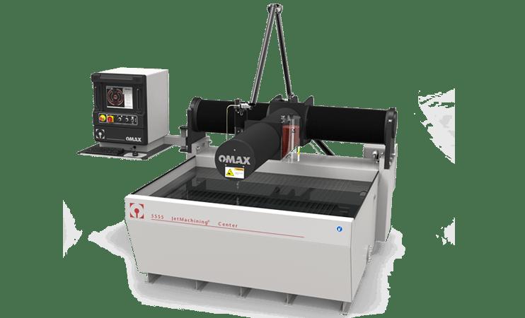 OMAX 5555 waterjetmachine