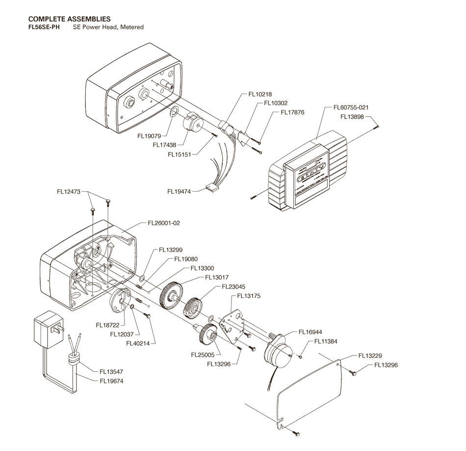 Water Softener: Water Softener 5600 Parts