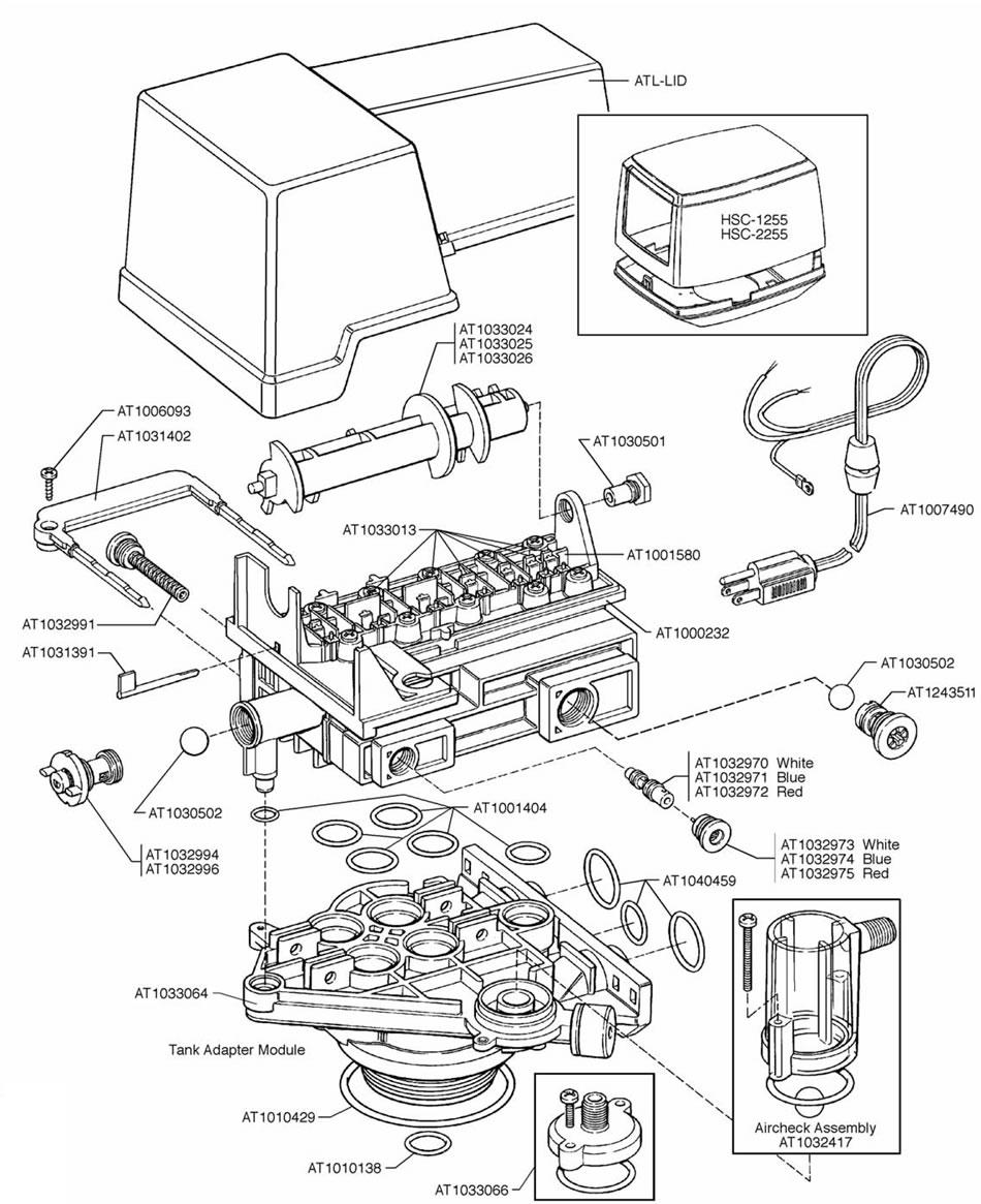 Autotrol 155 Control Valve Assembly