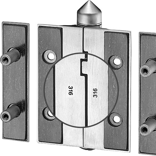 戶外格柵門專用-K51P-stainless steel 316