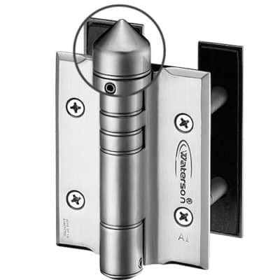 Stainless steel gate hinges-protection cap
