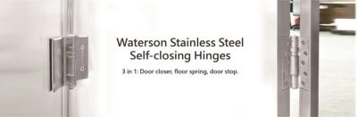 waterson self-closing hinge