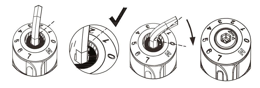 自動關門器-扭力盤