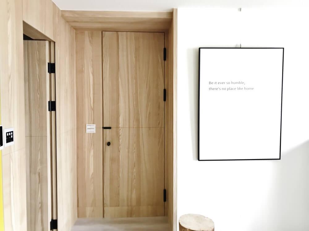 Fire Wood Door