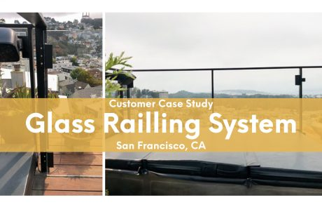 glass railling system