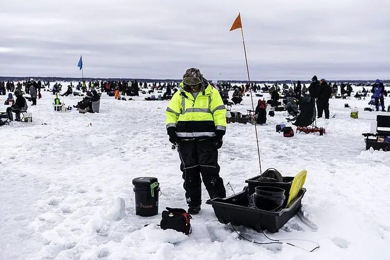 best ice fishing sled