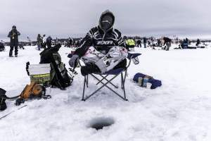 ice fishing chair