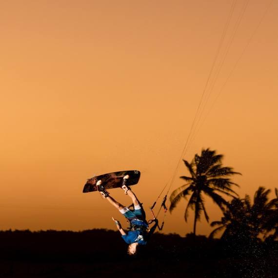 Barra do Ria Flash sunset sesh Dylan