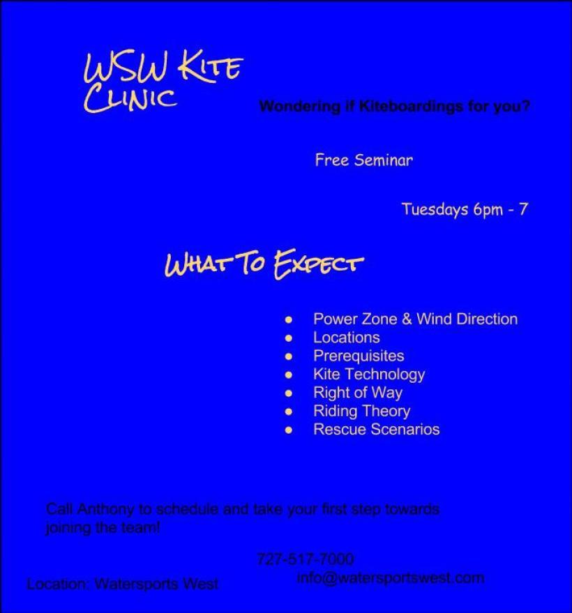 WSW Kite Clinic