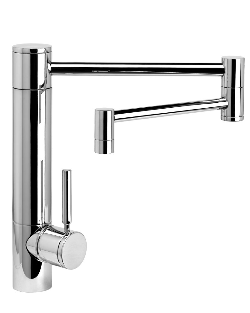 articulating kitchen faucet table bench waterstone hunley w 18 articulated spout 3600