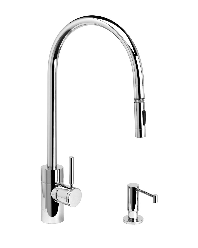 Waterstone Contemporary Extended Reach PLP Pulldown Faucet