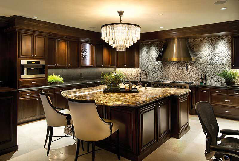 Robeson Design  San Diego CA  Waterstone Luxury Kitchen