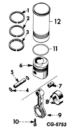 CONNECTING RODS, PISTONS, RINGS & SLEEVES